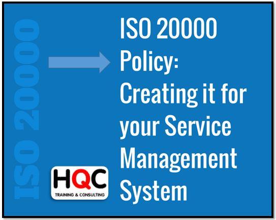 Điều khoản 5.2 Chính sách ISO 20000