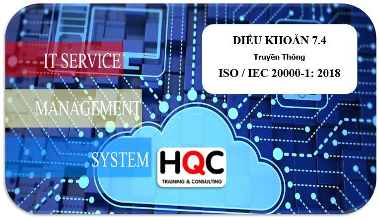Điều khoản 7.4 truyền thông ISO 20000