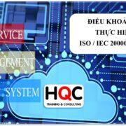 Điều khoản 8.1 thực hiện ISO 20000